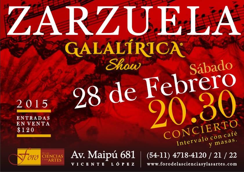 Galalirica Show - Zarzuela 28-02-2015