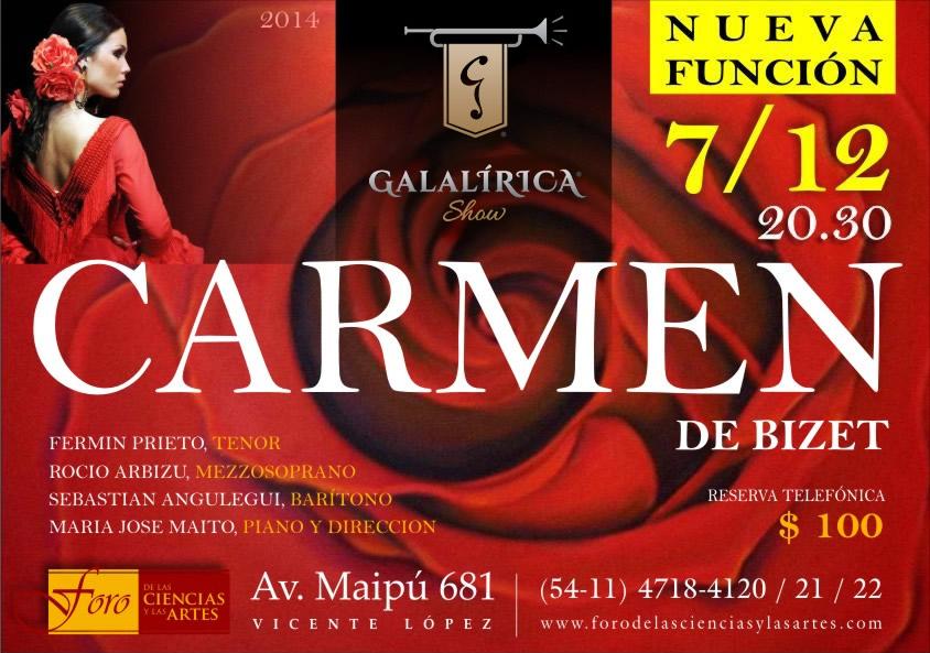Galalirica Show - Escenas de la Opera Carmen de Bizet